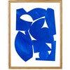 Cobalt Art Print, Blue - Art - 2