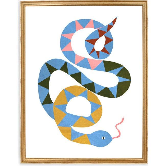 Serena the Snake Art Print, Multi