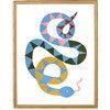 Serena the Snake Art Print, Multi - Art - 2
