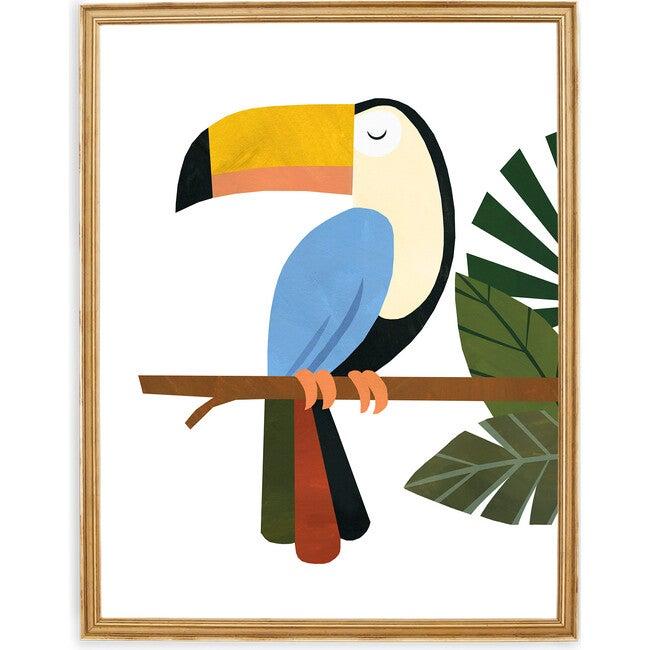 Tucker the Toucan Art Print, Multi