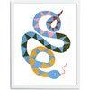 Serena the Snake Art Print, Multi - Art - 3