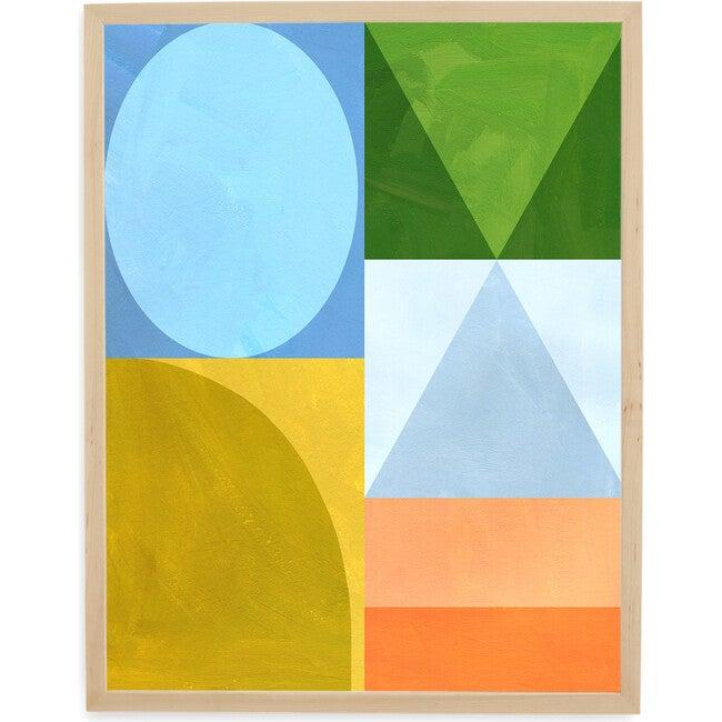 Blocks Art Print, Multi