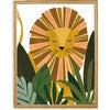 Liam the Lion Art Print, Yellow/Olive - Art - 3