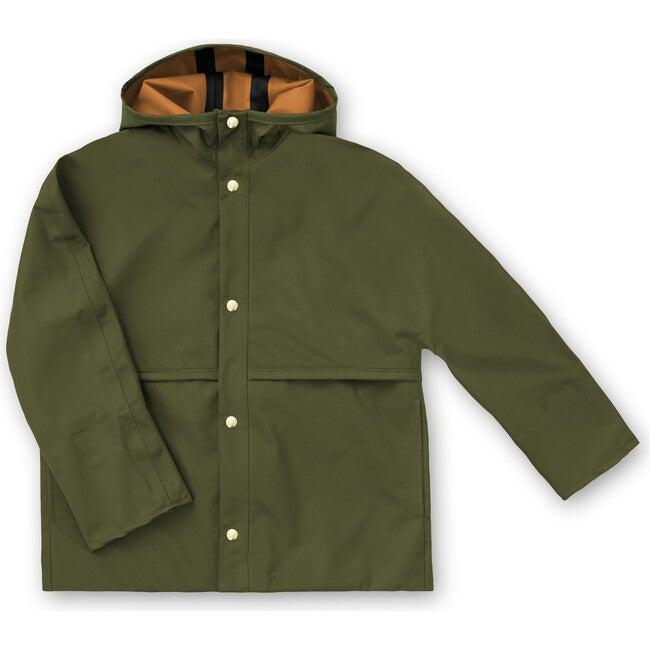 Parachute Raincoat, Spruce