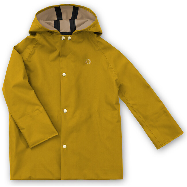 Midi Coat, Goldenrod