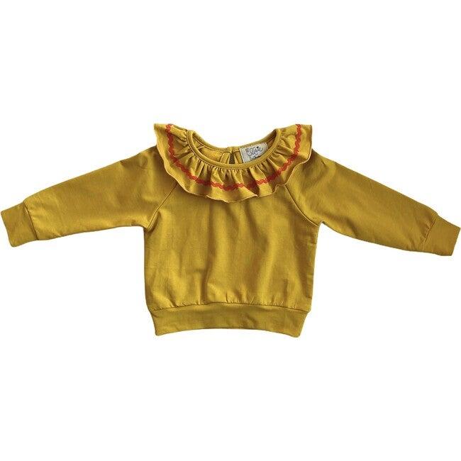 Pierrot Pullover, Mustard