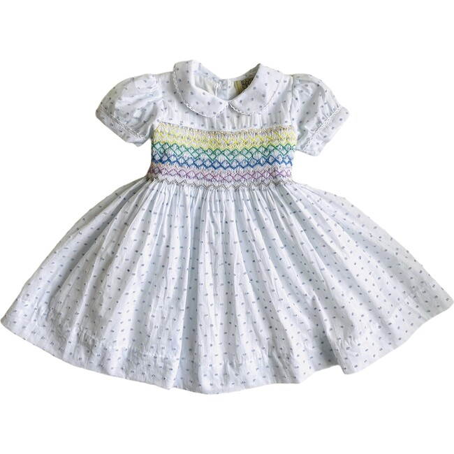 Rainbow Dress, Blue
