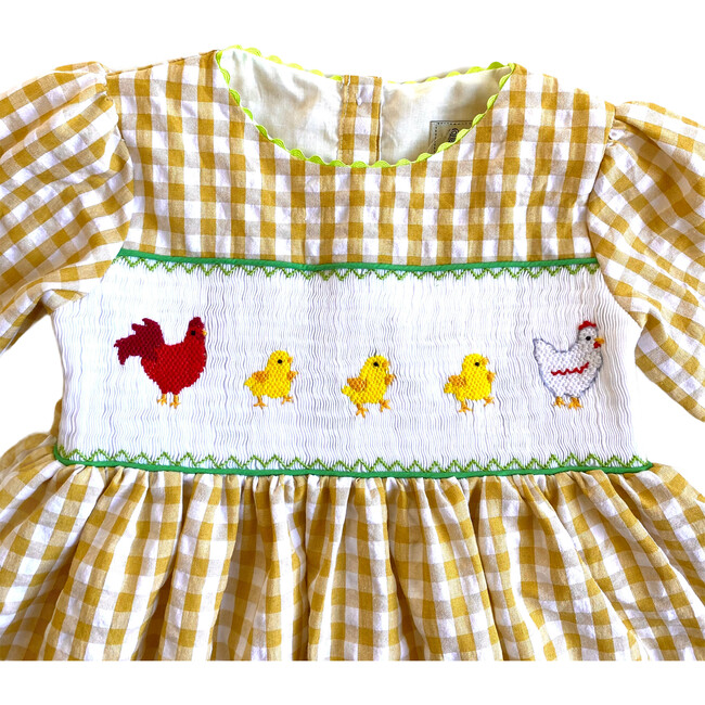 Penny Dress, Mustard
