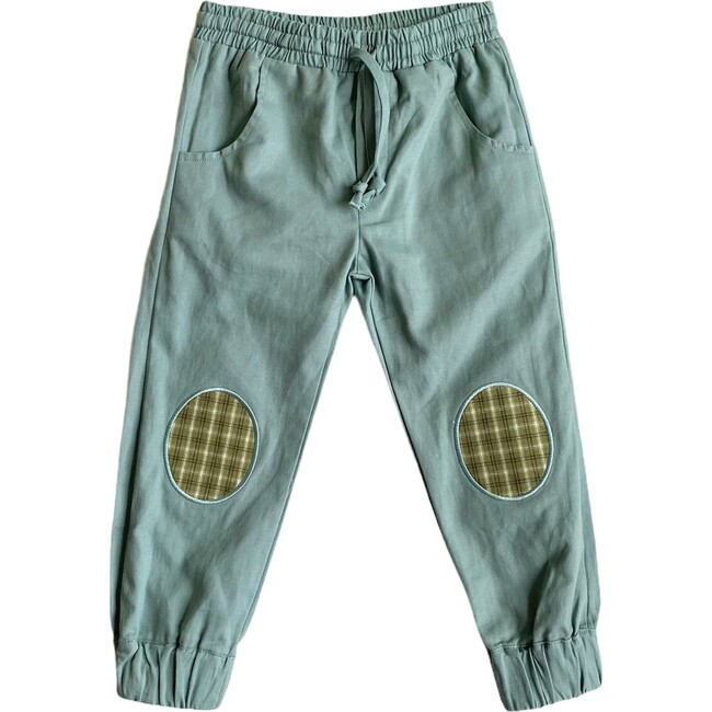 Patch Joggers, Green