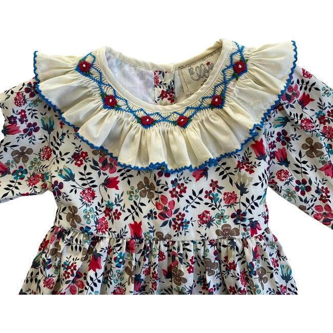 Ottilie Dress, Red