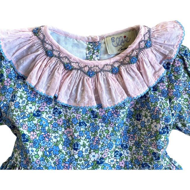 Ottilie Dress, Blue