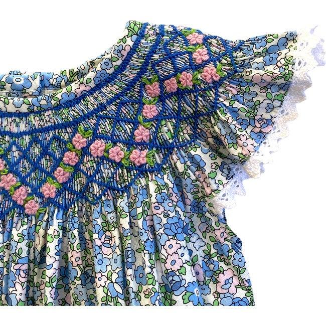 Martha Romper, Blue