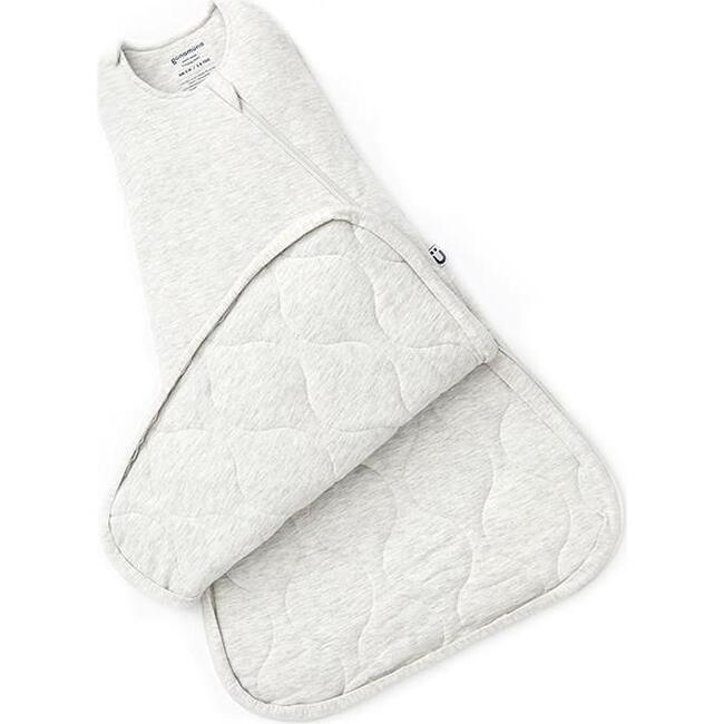 Swaddle Sleep Bag Premium .5 Duvet, Heather Grey