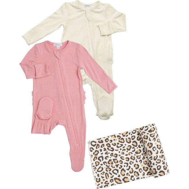 Pink Ivory Leopard Bundle