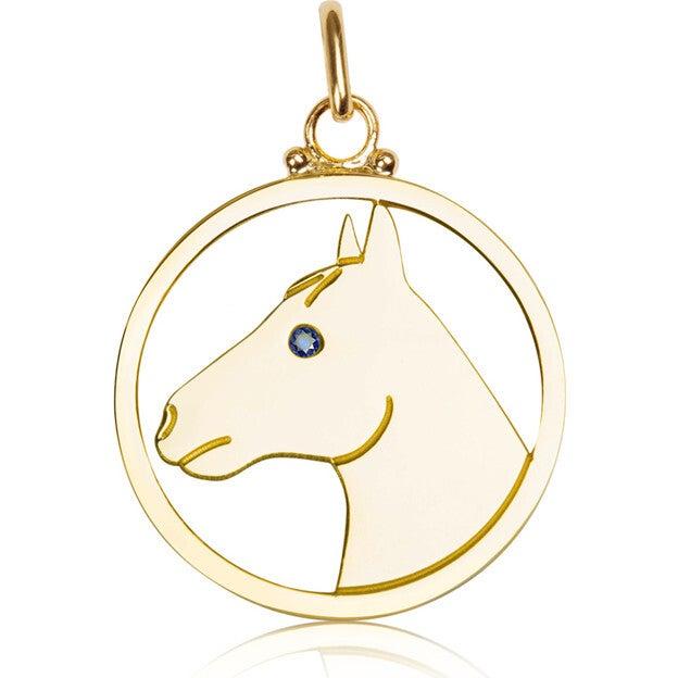 Medium Pendant, Horse