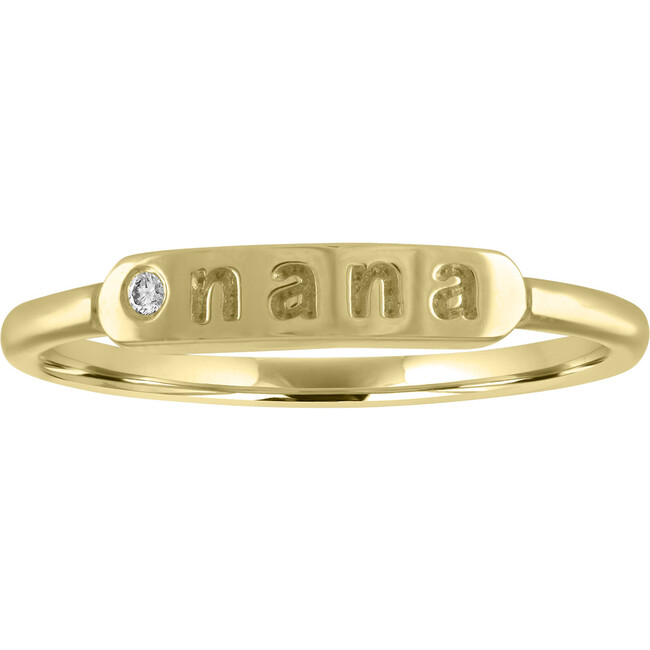 Women's Twiggy 14K Gold Nana Ring