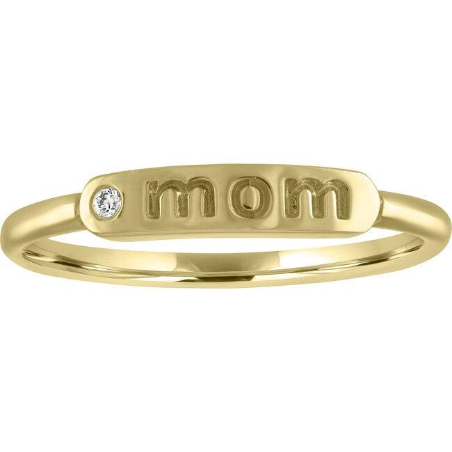 Women's Twiggy 14K Gold Mom Ring