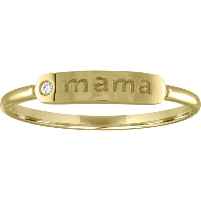 Women's Twiggy 14K Gold Mama Ring