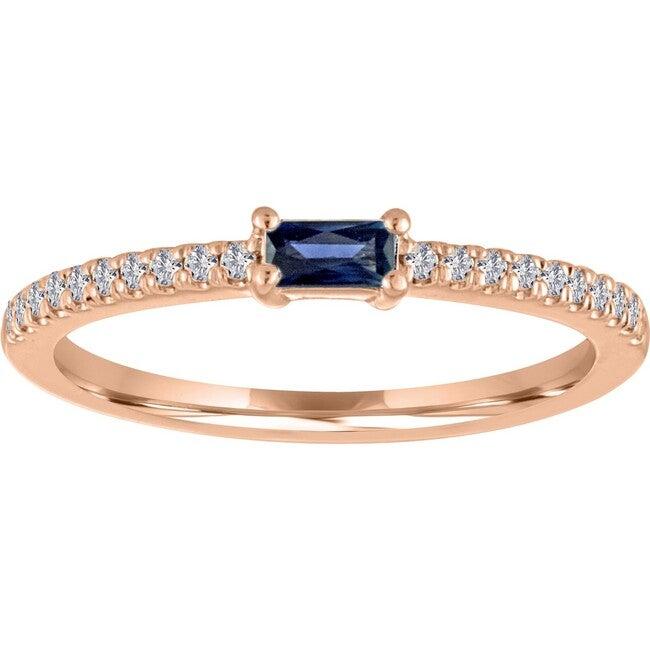 Women's Julia 14K Rose Gold Sapphire Ring