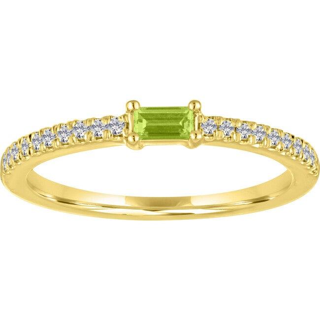 Women's Julia 14K Gold Peridot Ring