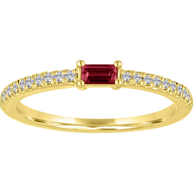 Women's Julia 14K Gold Garnet Ring