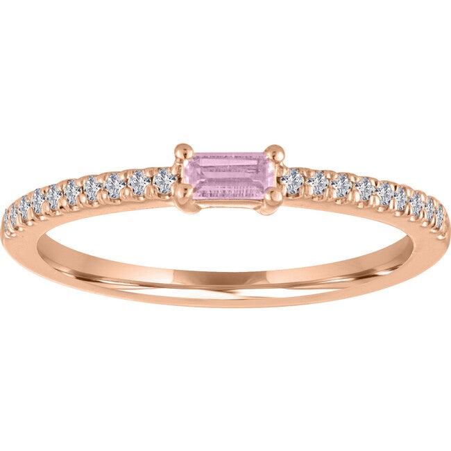 Women's Julia 14K Rose Gold Tourmaline Ring