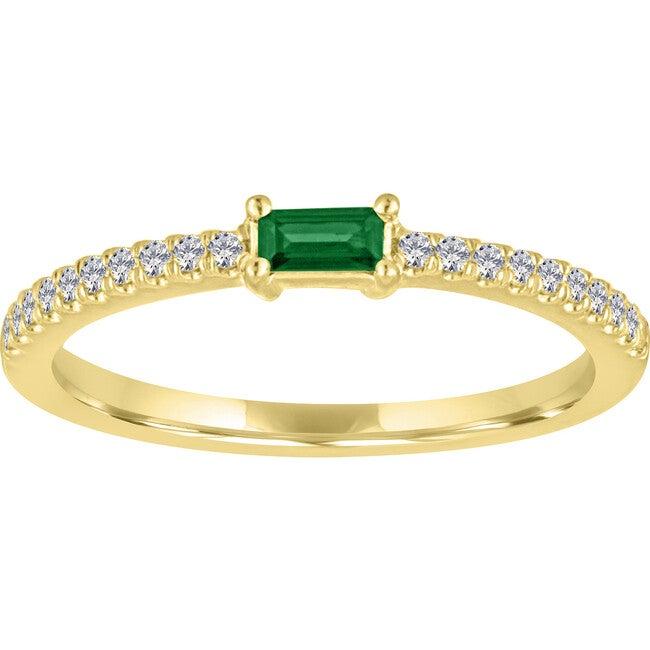Women's Julia 14K Gold Emerald Ring