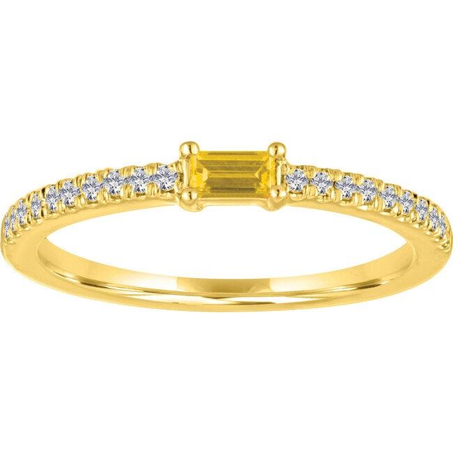 Women's Julia 14K Gold Citrine Ring