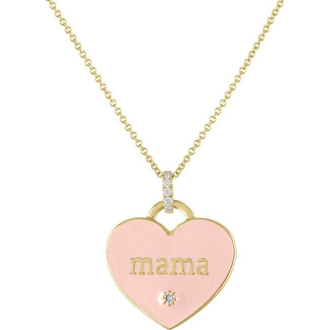 Women's Jasmine 14k Gold & Diamond Mama Pendant