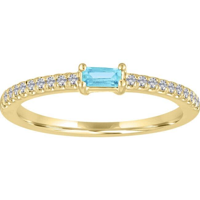 Women's Julia 14K Gold Aquamarine Ring