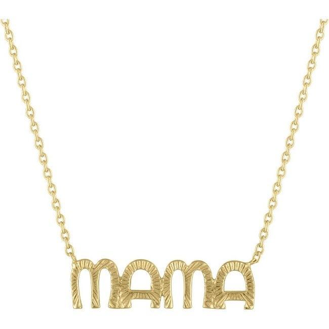 Women's Nova 14K Gold Mama Pendant