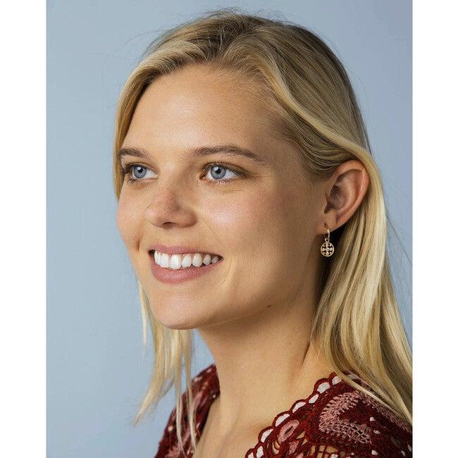 Women's Diamond Circle Earring Charm