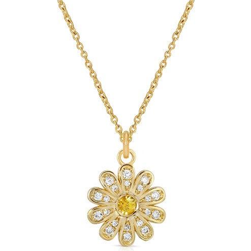 Mini Daisy Flower Necklace