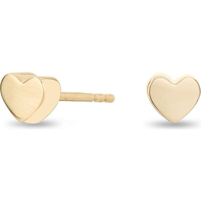 Super Tiny Puffy Heart Post Earrings
