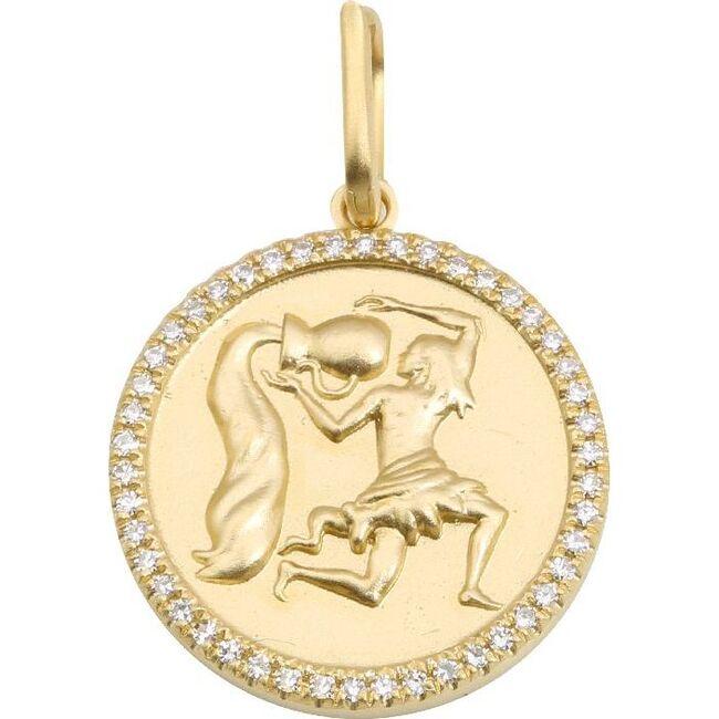 Aquarius Charm, 14K Gold