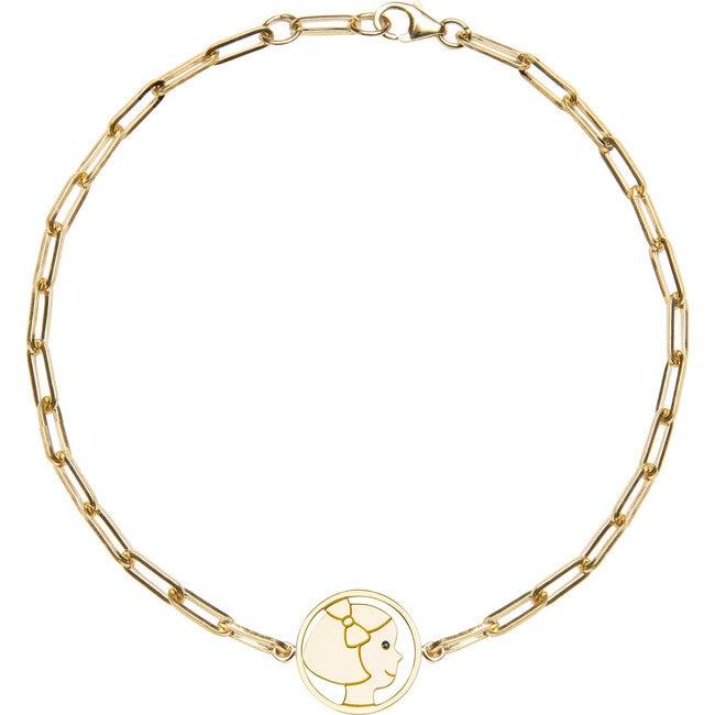 Silhouette Bracelet, Delicate Girl - Bracelets - 1