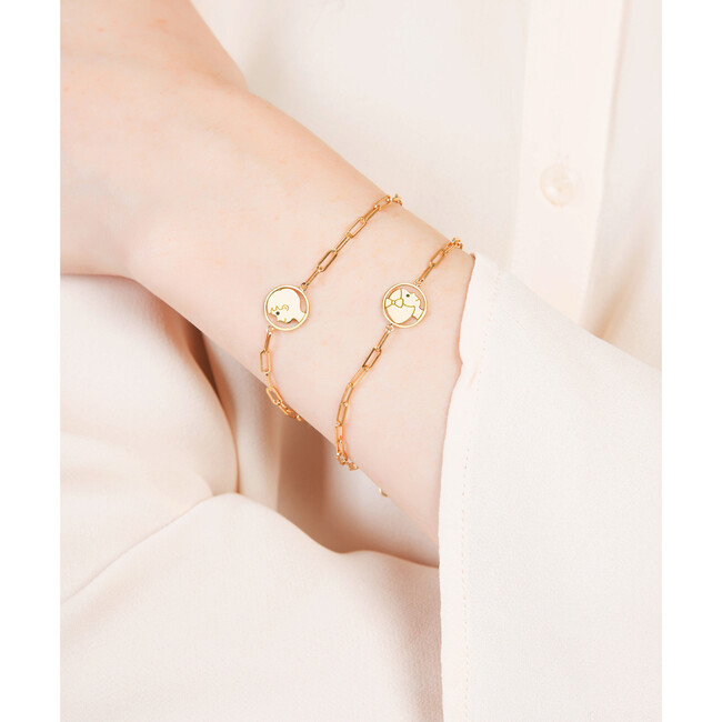 Silhouette Bracelet, Delicate Girl