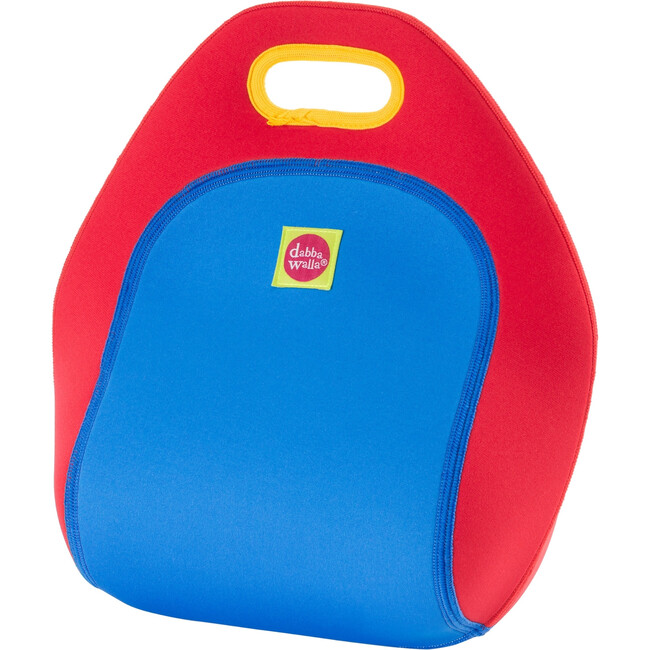 Truck Lunch Bag, Red and Blue