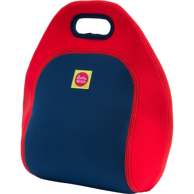 British Flag Lunch Bag, Red and Blue