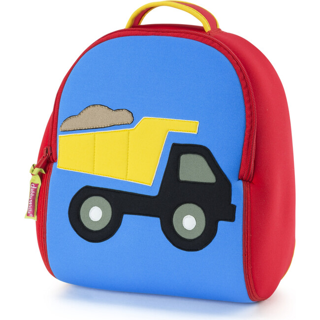 Truck Backpack, Red and Blue