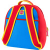 Truck Backpack, Red and Blue - Backpacks - 2
