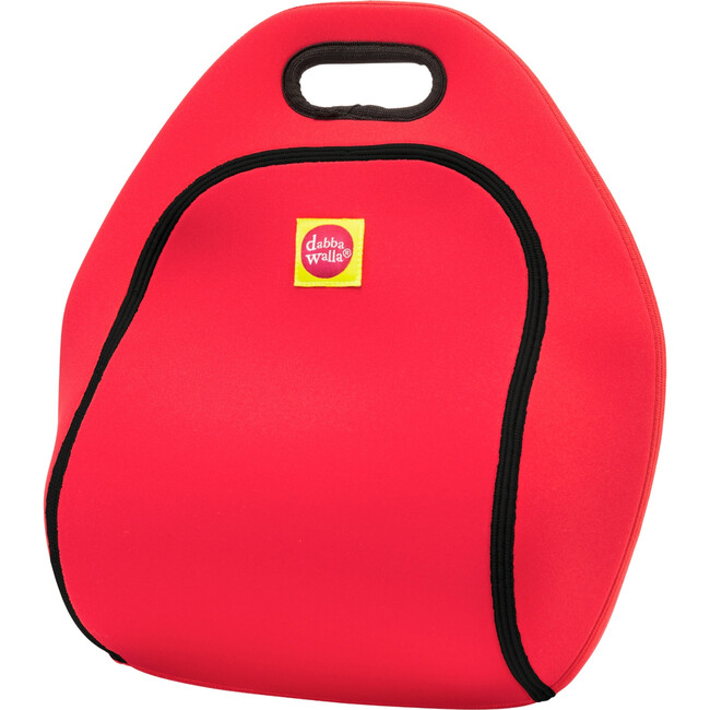 Scottie Lunch Bag, Red and Black