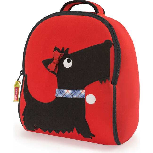 Scottie Backpack, Red and Black