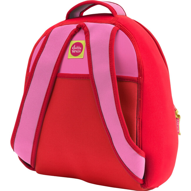 Strawberry Backpack, Red and Pink