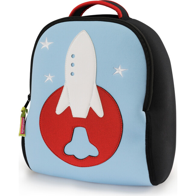Rocket Backpack, Blue and Red