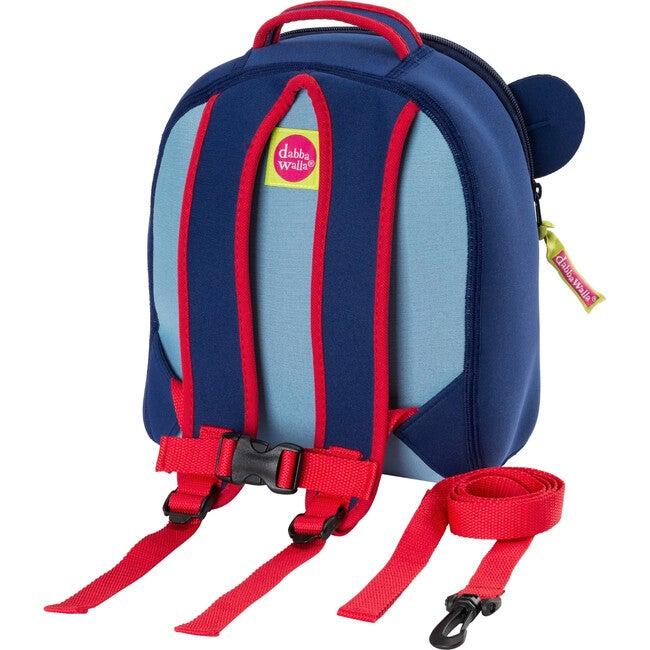 Blue Monkey Toddler Harness Backpack, Blue