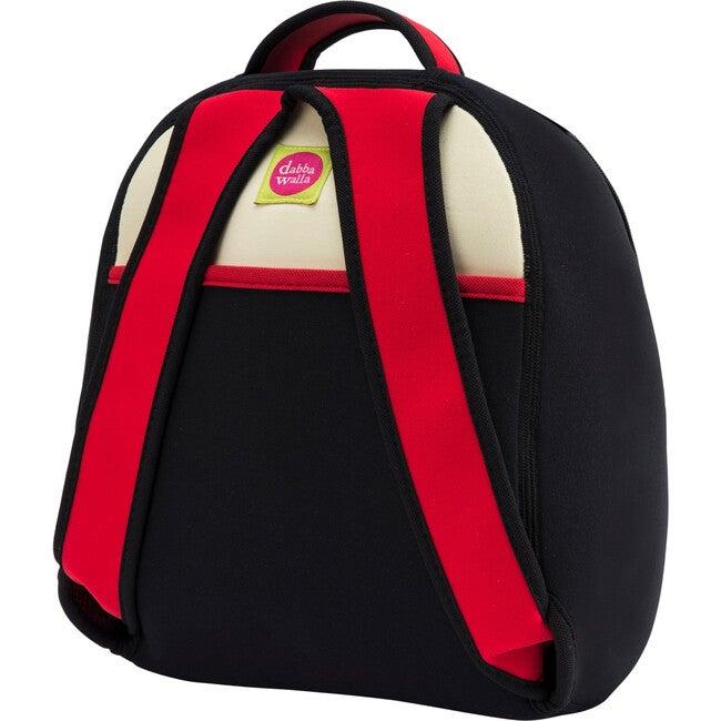 Panda Backpack, Black and Cream