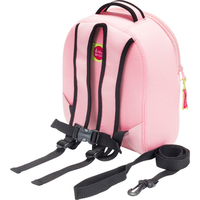 Kitty Toddler Harness Backpack, Pink