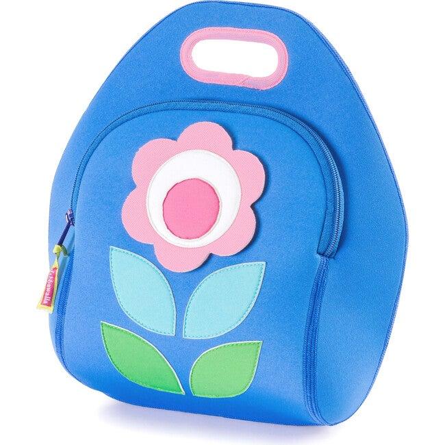 Flower Petal Lunch Bag, Blue