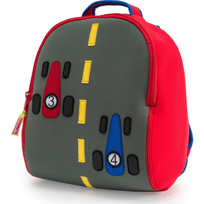 Race Car Backpack, Red